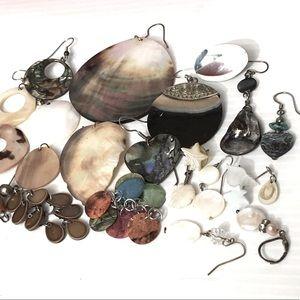 Shell & Abalone Supply rePurpose Single Earrings